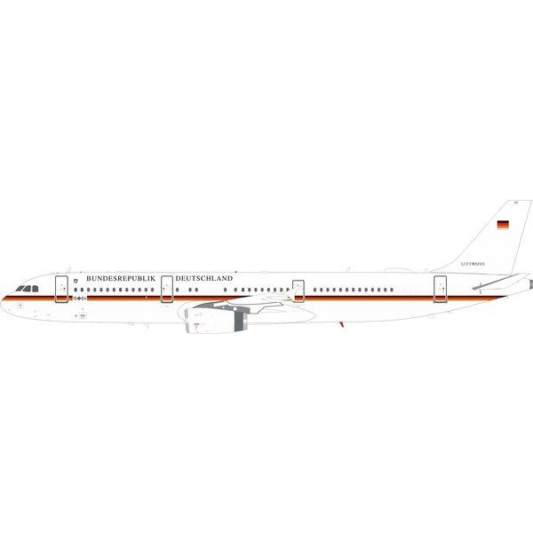 InFlight A321 Luftwaffe German Air Force 15+04 1:200