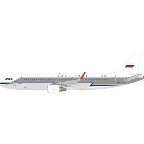 A320S Aeroflot Retro livery VP-BNT 1:200 +Preorder+