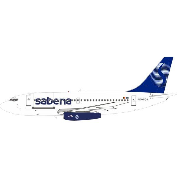 InFlight B737-200 Sabena final livery OO-SDJ 1:200