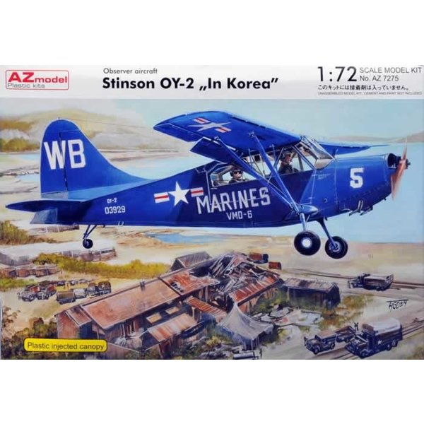 AZ MODELS Stinson OY-2 in Korea 1:72**Out of production**
