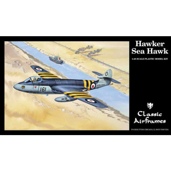 Classic Airframes SEA HAWK FAA[3]/Dutch 1:48**Discontinued**used