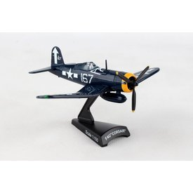 Postage Stamp Models F4U Corsair US Navy WHITE167 1:100