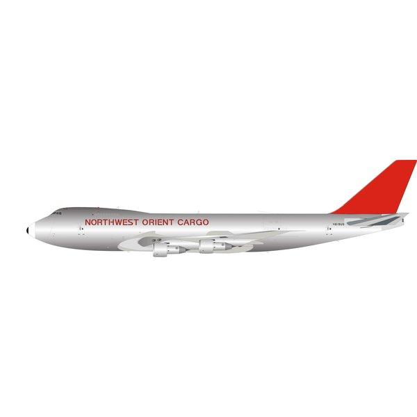 InFlight B747-200F Northwest Orient Cargo N619US 1:200