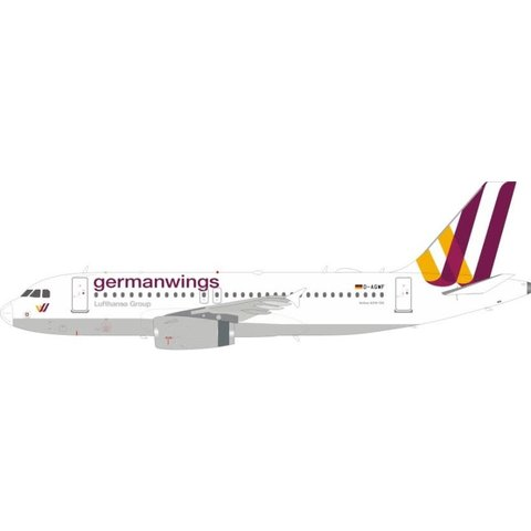 Airbus A319 Germanwings D-AGWF 1:200