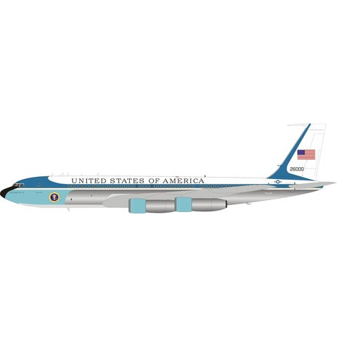 VC137C/B707 USAF Spirit of '76 26000 1:200 polished +Preorder+