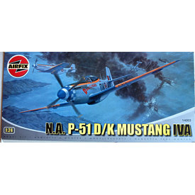 Airfix P51D/K Mustang IVA 1:24**Discontinued**Used