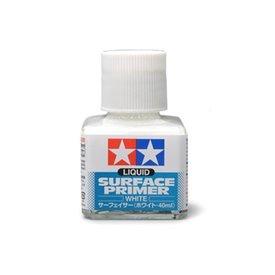 Tamiya Liquid Surface Primer White [40ml]