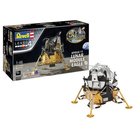 Apollo 11 Lunar Module Eagle 1:48 [Ex-Dragon] re-issue 2019
