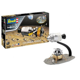 Revell Germany Apollo 11 Columbus + Eagle 1:96 Re-issue 2019