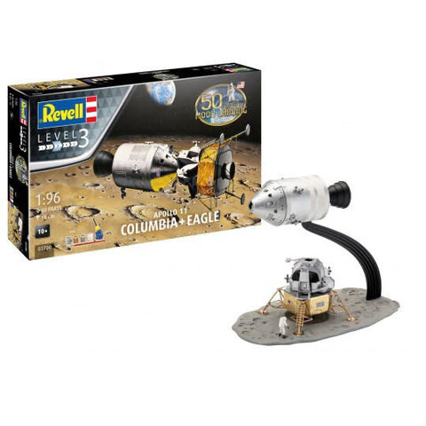 Apollo 11 Columbus + Eagle 1:96 Re-issue 2019