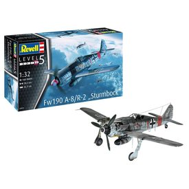 Revell Germany Fw190A-8/R2 Sturmbock 1:32 new 2019