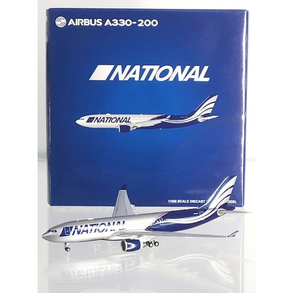 JC Wings A330-200 National Airlines N819CA blue/silver 1:400