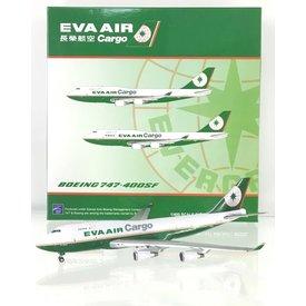 JC Wings B747-400BDSF Eva Air Cargo B-16407 1:400
