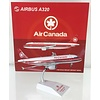 A320 Air Canada Double Red Stripe C-FDRH 1:200