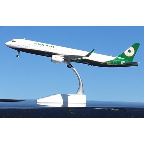 A321S EVA Air B16227 1:200 Sharklets with Stand