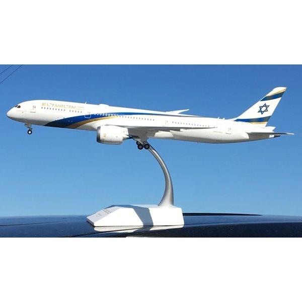 JC Wings B787-9 Dreamliner ELAL Jerusalem Gold 4X-EDM 1:200