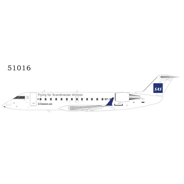 NG Models CRJ100LR Cimber Air SAS Scandinavian OY-RJI 1:200