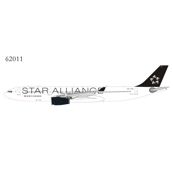 NG Models A330-300 Air Canada Star Alliance 2017 livery C-GEGI 1:400 +Preorder+