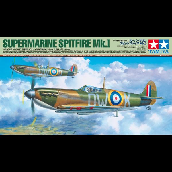 Tamiya Spitfire Mk.1 1:48 New Tool