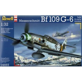 Revell Germany Bf109G-6 early or late versions [ 2013 tool ] 1:32