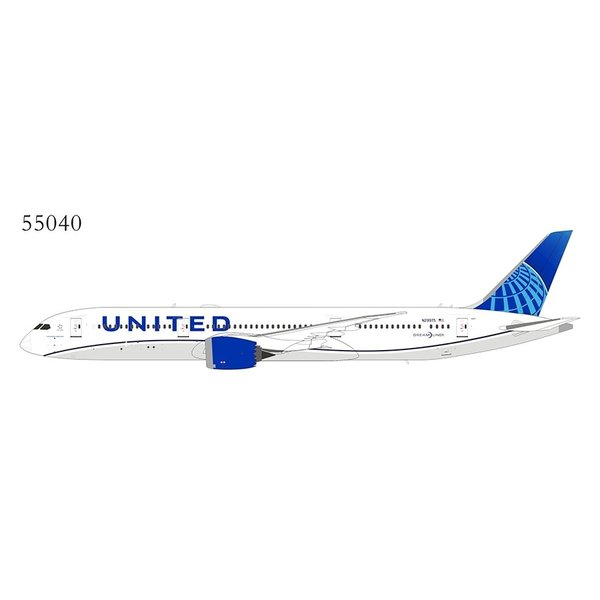 NG Models B787-9 Dreamliner United Airlines 2019 livery N29975 1:400