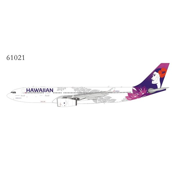 NG Models A330-200 Hawaiian Air 2017 livery N360HA 1:400