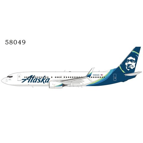B737-800S Alaska Airlines 2014 livery