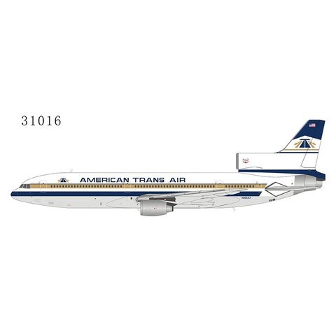 L1011-50 American Trans Air 1980s livery N186AT 1:400 +Preorder+
