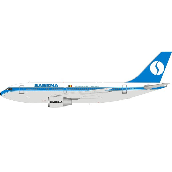 InFlight Airbus A310-200 Sabena old livery OO-SCA 1:200