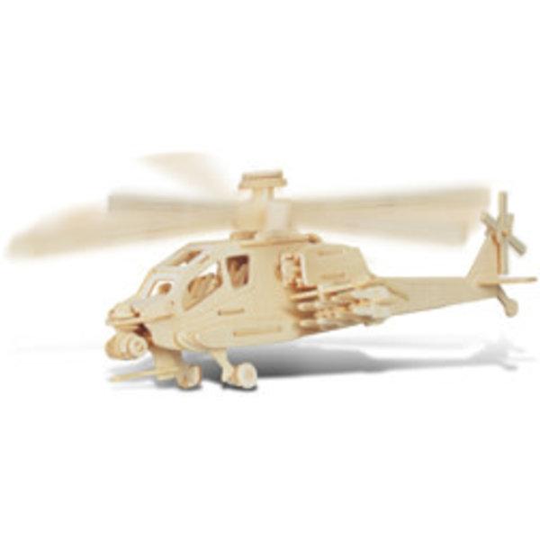 Apache 3D Wood Puzzle