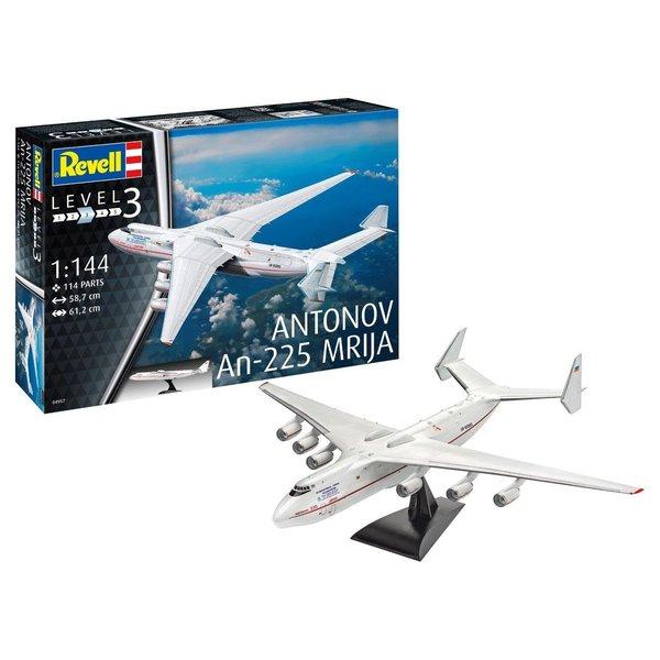 Revell Germany Antonov An225 Mrija in flight 1:144 No gear, stand only