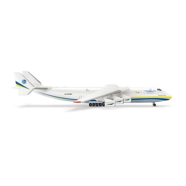 Herpa AN225 Mriya Antonov Airlines new livery Blue/yellow 1:500
