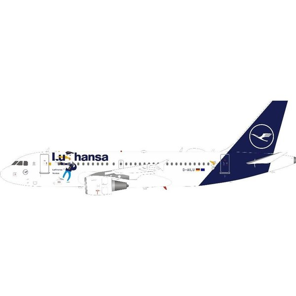 InFlight A319 Lufthansa Verden Ducks new C/S D-AILU 1:200