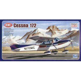 Minicraft Model Kits Cessna 172 1:48 New Mold 2005