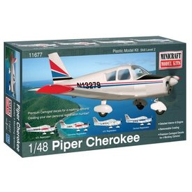 Minicraft Model Kits Piper Cherokee 1:48