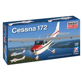 Minicraft Model Kits Cessna 172 with custom registration number 1:48