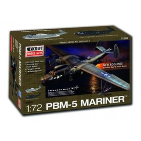Minicraft Model Kits PBM-5 Mariner 1:72 [2016 Re-issue with new decals]
