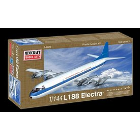 Minicraft Model Kits L188 Electra Demonstrator 1:144