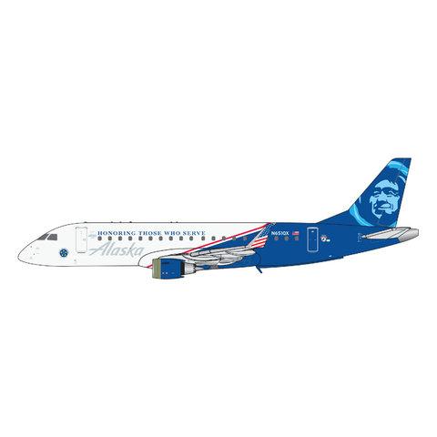 ERJ175 Alaska Horizon Air Honoring N651QX 1:400