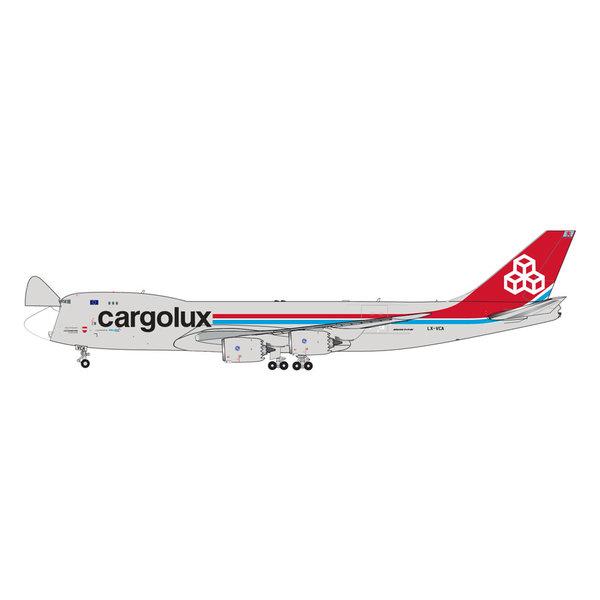 Gemini Jets B747-8F Cargolux LX-VCA (Interactive Series) 1:400 +Preorder+