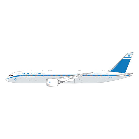 B787-9 Dreamliner El Al retro 4X-EDF 1:400