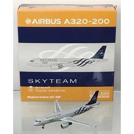 Phoenix A320 Saudia Skyteam HZ-AZF 1:400