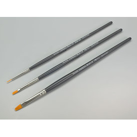 Tamiya Paint brush STANDARD SET of 3 High-Finish brushes