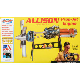 Atlantis Allison Prop-Jet Engine 1:10 [Ex-Revell]