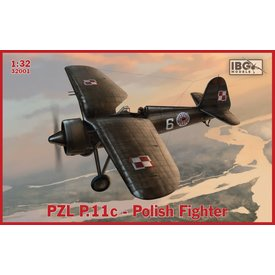 IBG PZL P11C Polish Fighter 1:32