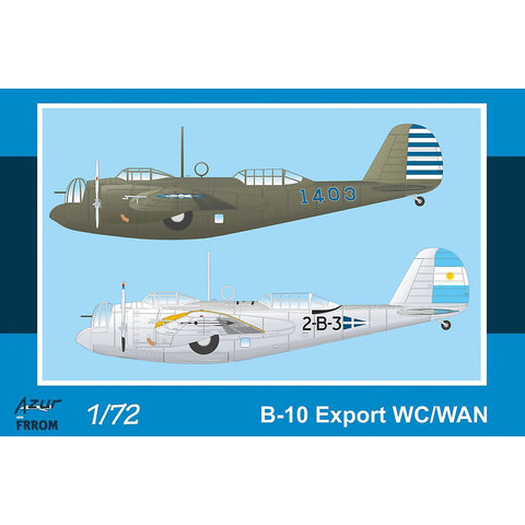 Frrom-Azur B-10B Export WC/WAN 1:72 New 2020