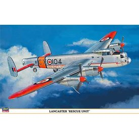 Hasegawa Lancaster RCAF Rescue 1:72 CLASSIC ISSUE *Ex-collection*used