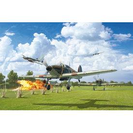 Italeri Hurricane Mk1 80th Anniversary of the Battle of Britain 1:48