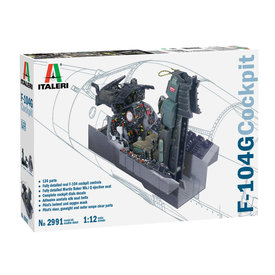 Italeri F104G Cockpit 1:12 2020 re-issue, Ex-ESCI
