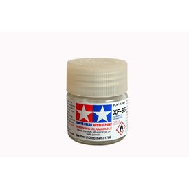Tamiya Acrylic Paint 10ml Flat XF-86 Flat Clear
